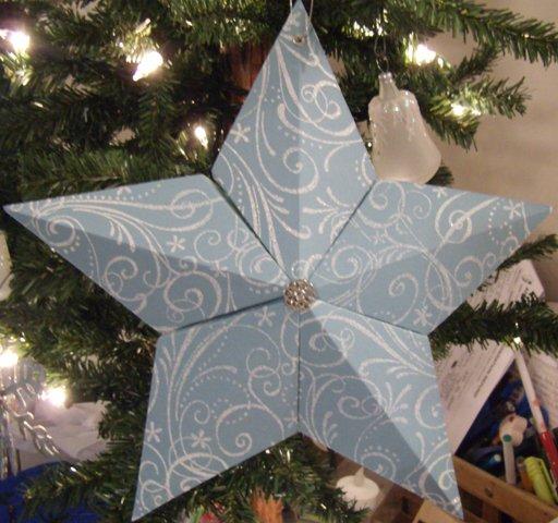 5 point 3D star