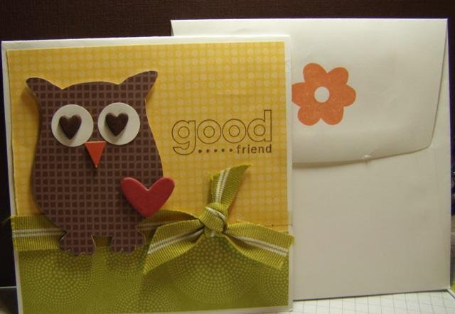 Good friend card 1