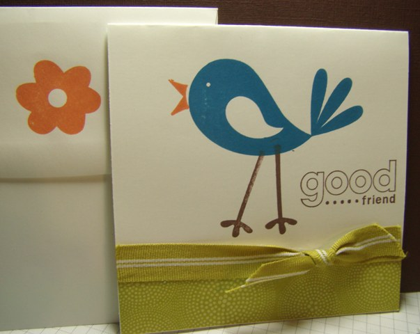 Good friend card 3