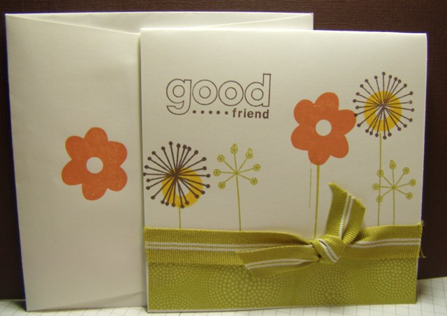 Good friend card 4