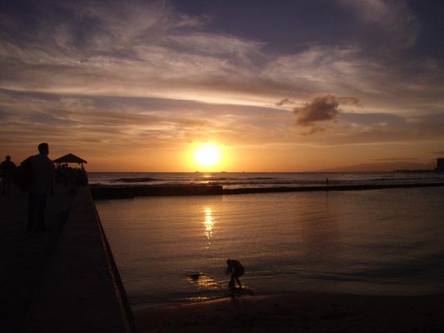 Wakiki sunset 2