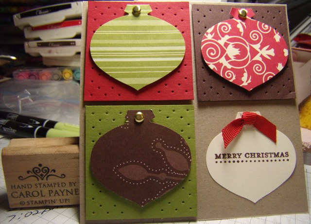Merry moments ornaments