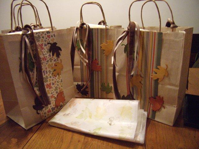 Ina FWB gift bags