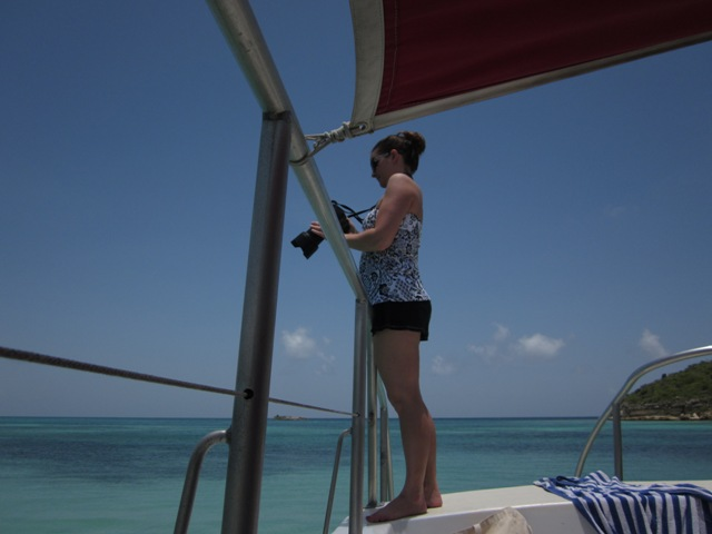 Antigua catamaran