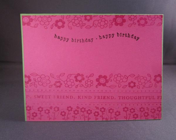 Birthday block 2