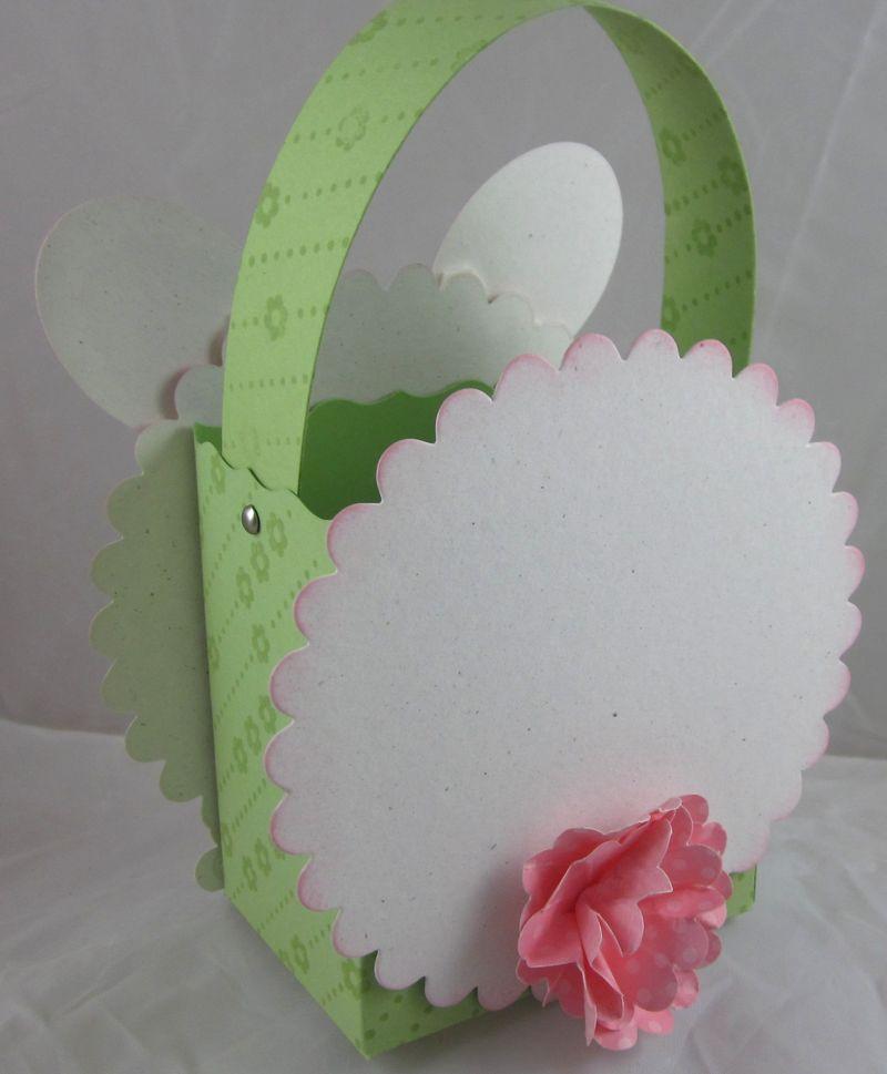 Bunny basket tail