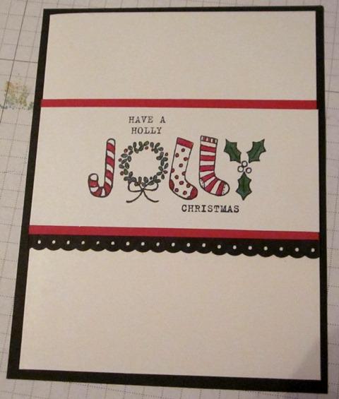 Festive and fun card 1