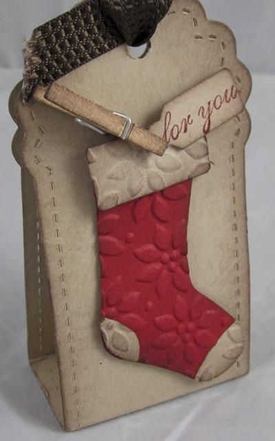 Stocking nugget holder