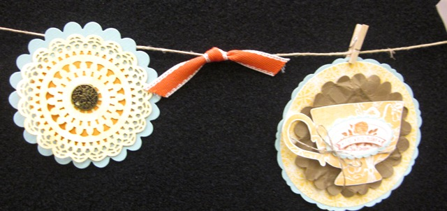 Paper doily banner 2