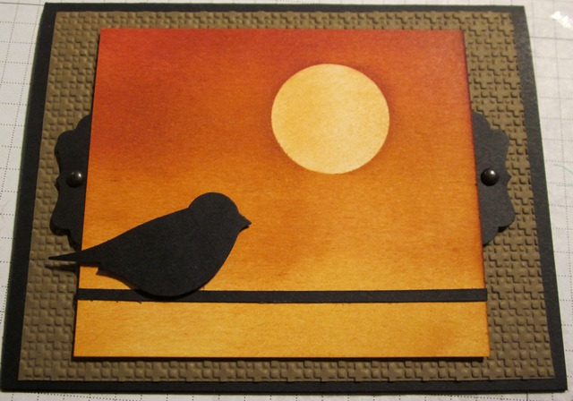 Sunset bird 1