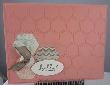 Renee Watson hexagon honeycomb 1