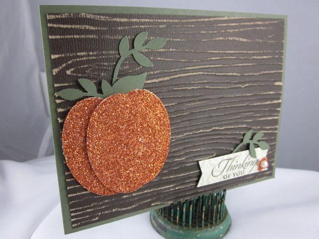 Glitter pumpkin 1