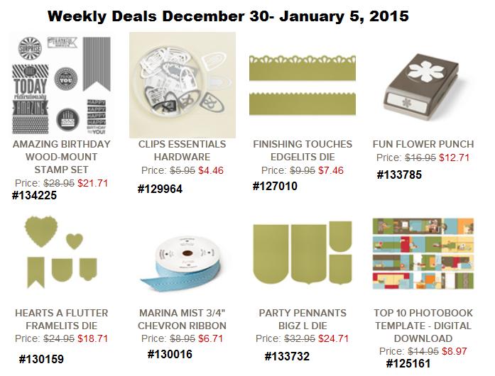Weekly Deals December 30