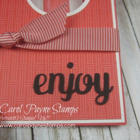 Stampin up cool treats peekaboo carol payne stamps3