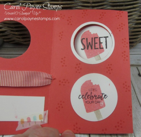 Stampin up cool treats peekaboo carol payne stamps4