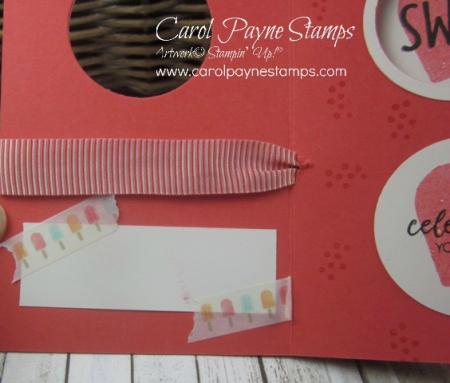 Stampin up cool treats peekaboo carol payne stamps5