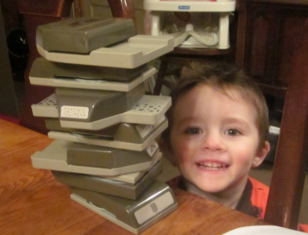 Liam's stack November 2014