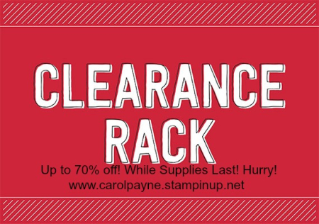 December 2017 Clearance Rack Refresh carolpaynestamps