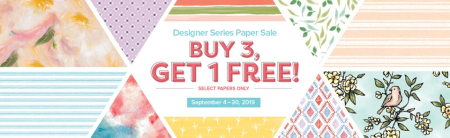 Stampin Up September 2019 B#G!F DSP carol paynes stamps1
