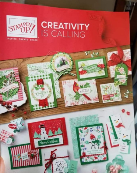 2019 Holiday Catalog carolpaynestamps1