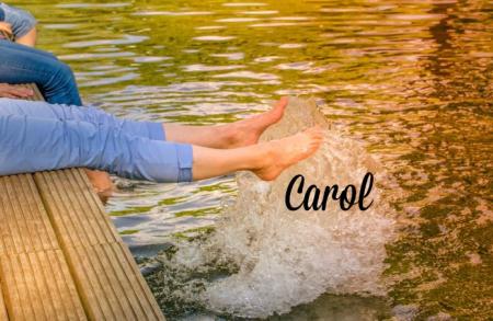 Carol Payne Stamps Summer signature