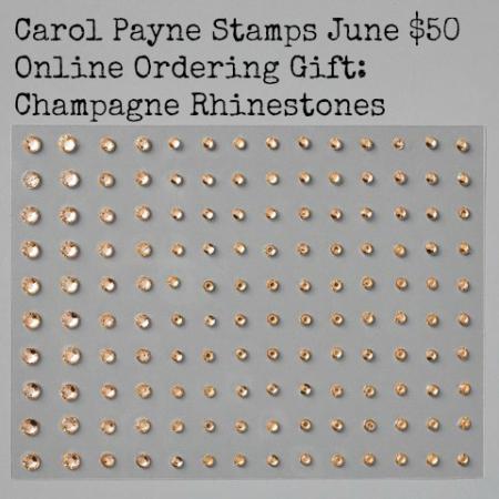 Carol payne stamps June online ordering gift