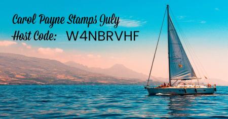 Carol Payne Stamps July Host Code