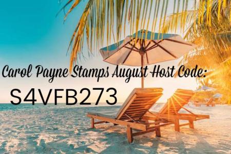 August Carol Payne Stamps Host Code