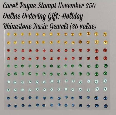 Stampin up holiday rhinestone basic jewels