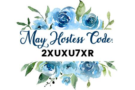 Carol Payne Stamps May Host Code