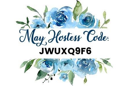 Carol Payne Stamps May Host Code 2