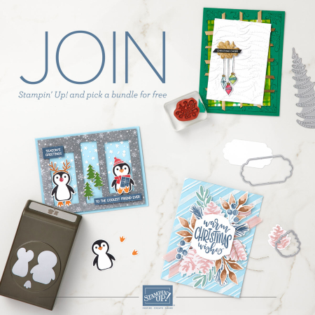 Join Stampin' Up! carol payne stamps